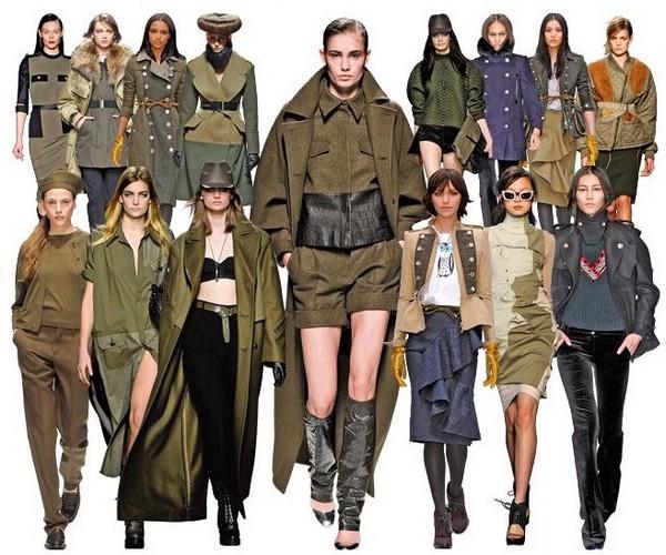 Милитари одежда для женщин