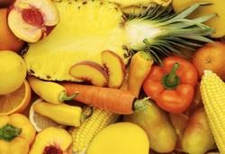 Желтые овощи