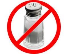 Отказ от соли или бессолевая диета