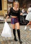 Майли Сайрус на шоппинге в Нью-Йорке, 23.07.2012