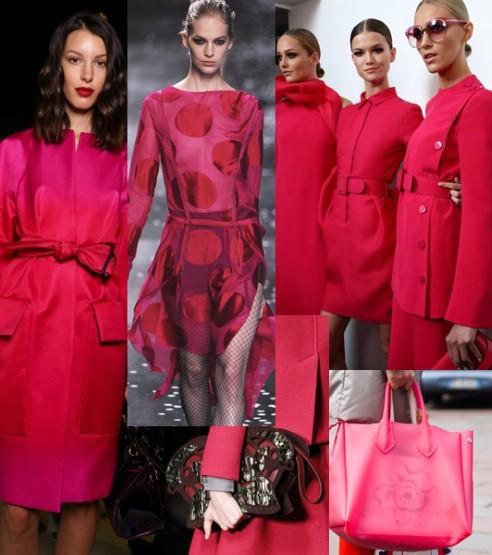 Розовая одежда весной
