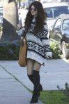 Селена Гомес в Санта-Монике (Калифорния), 27.01.2013