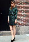 Роуз Бирн приняла участие в шоу Дэвида Леттермана в Нью-йорке, 23.08.2011