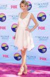 Тейлор Свифт на церемонии 2012 Teen Choice Awards, 22.07.2012