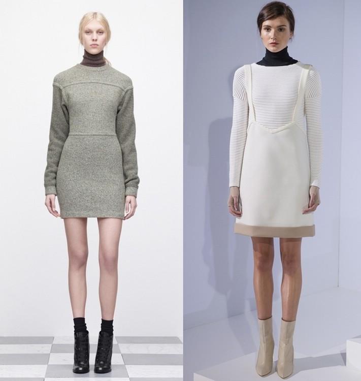Модные платья осень 2013.