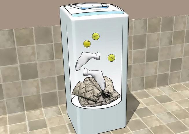 Как стирать пуховик в стиральной машине