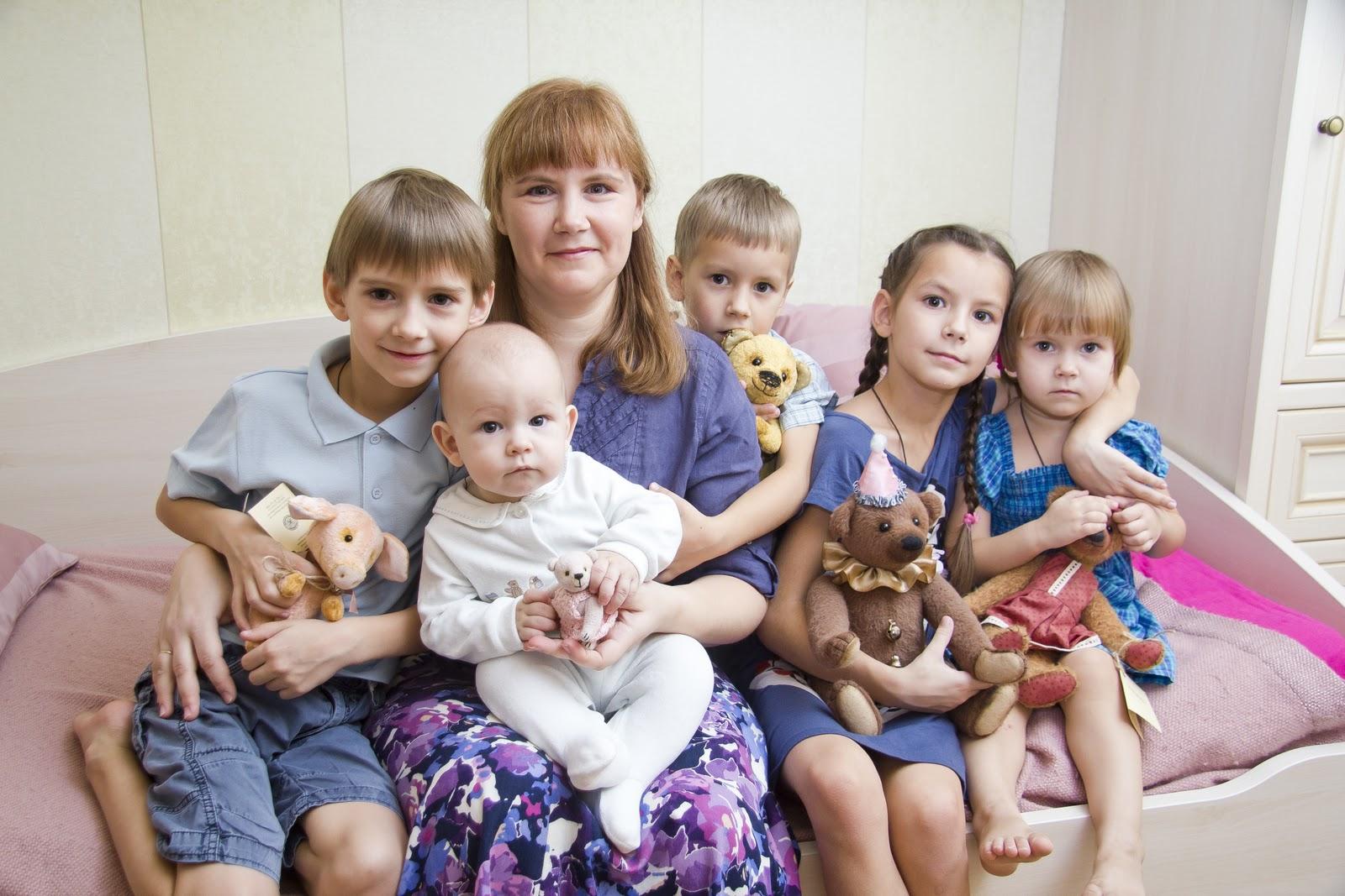 Что полагается многодетной матери