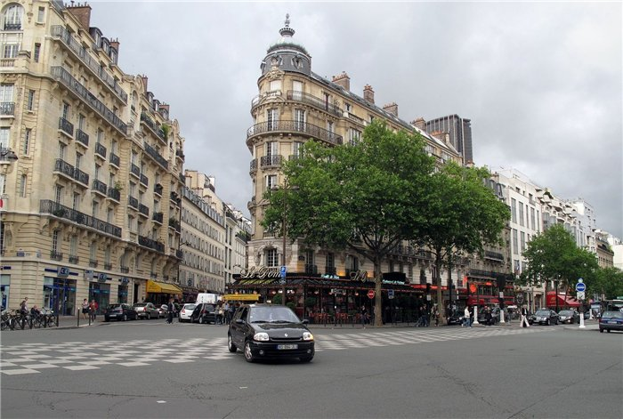 Бульвары Парижа