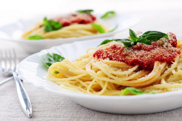 Паста, блюдо родом из Италии
