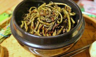 Салаты из папоротника. Рецепты вкусных салатов с папоротником