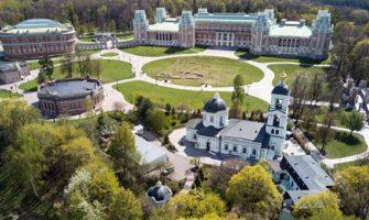 Музей-заповедник «Царицыно» в Москве