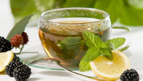 Мятный чай с цитрусовыми