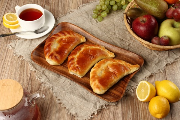 Пирожки с лимонной начинкой